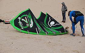 "Test Wainman Rabbit 3.0 7,5 m2 ""mr Green"""