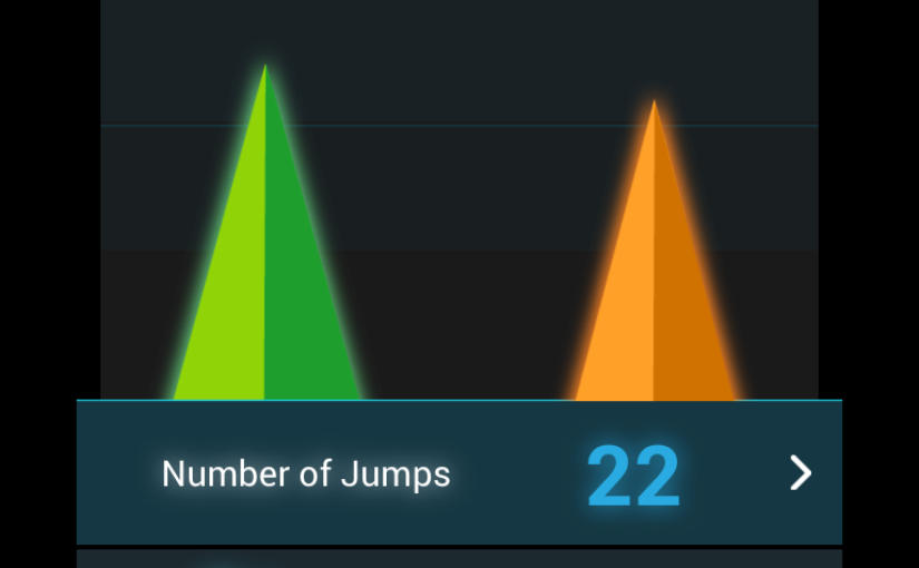 Review WOO Sports: tracking of jump height and air time -part 1-