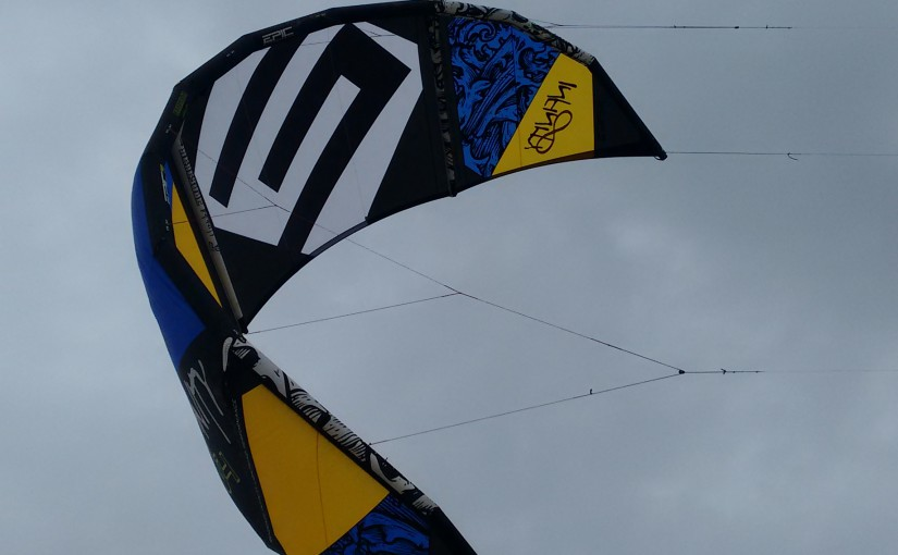 Review: Epic Renegade Infinity V4 (2015 model) un-sized low wind kite