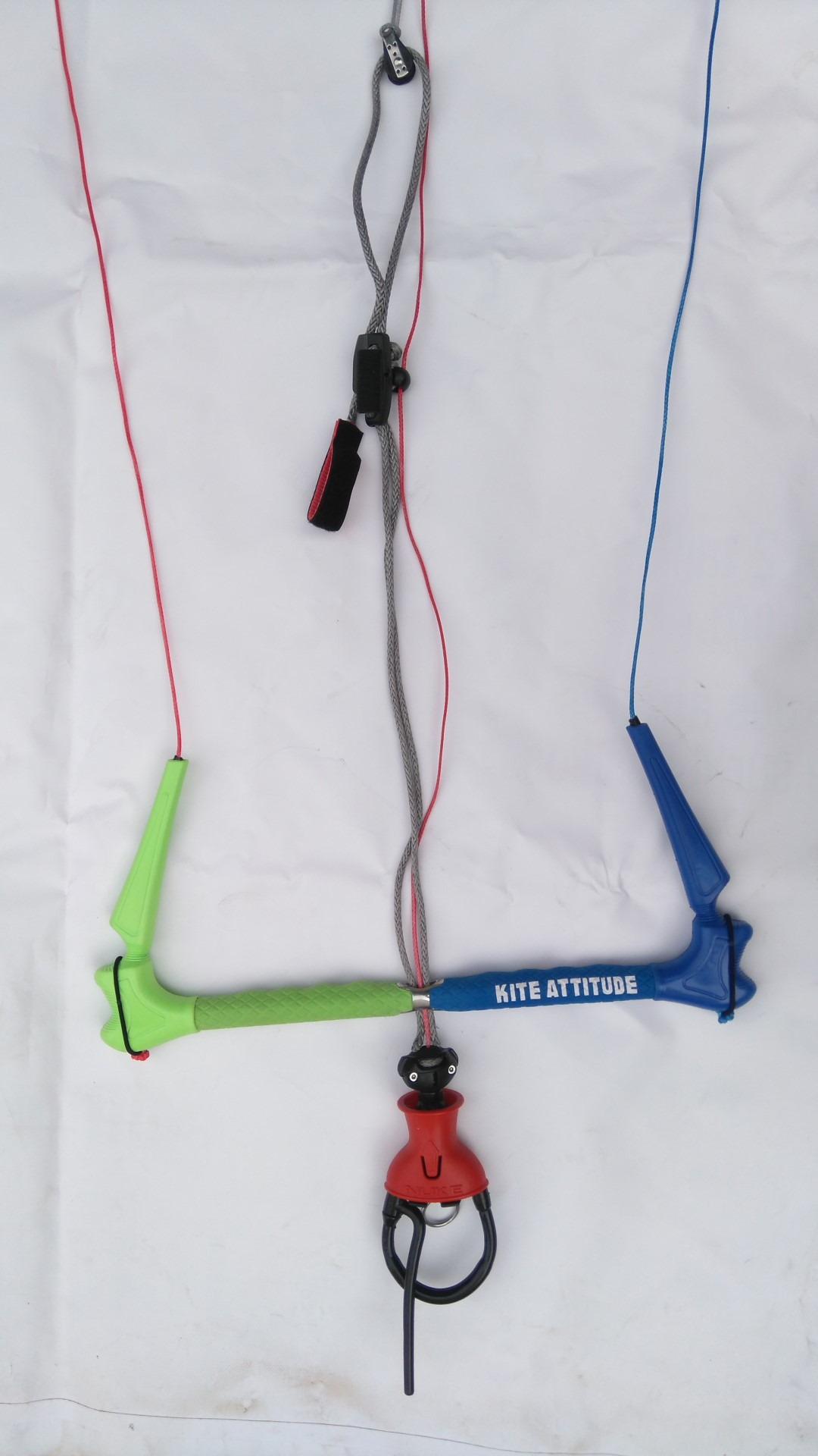 DUOTONE TRUST BAR QUAD CONTROL 22 METER KITE BAR Bars QUICK RELEASE ROPE HARNESS Weiterer Wassersport