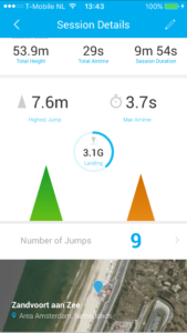 Summary WOO sports (10 jumps)