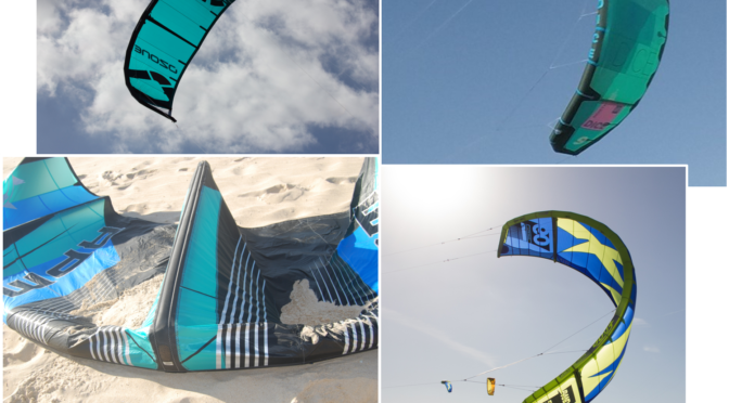Four 2018 9m top brand kites compared
