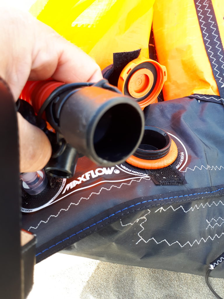 Liquid Force Max Flow valve and pump