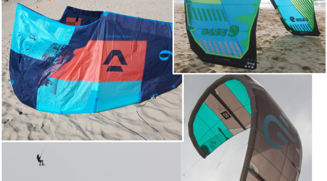 Four 2019 crossover kites compared