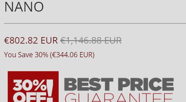 Price Switch Nano 9m